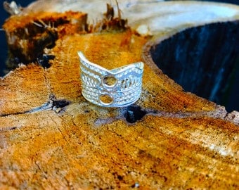 Victoria Handcrafted Silver Filigree Ring