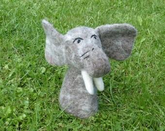 Elephant Felt Eggwarmers designed in Germany, handmade in Nepal