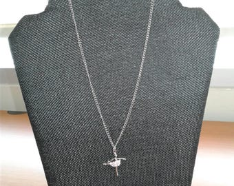Necklace with Ballerina Pendant