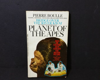 Vintage Planet of the Apes Paperback Pierre Boulle 1964