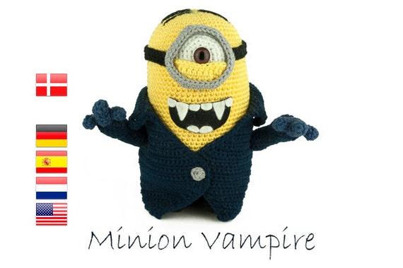 Crochet pattern Minion Vampire