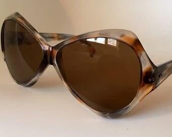 vintage 60s MARBLEISED sunglasses