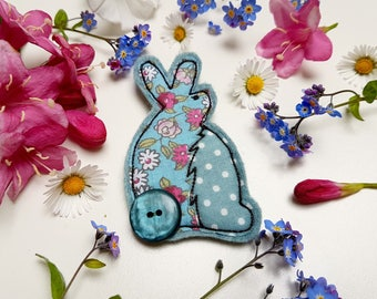 Cute Bunny Brooch