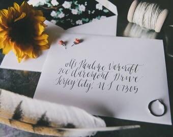 Custom, Calligraphy Envelope Addressing, Wedding Envelope, Calligraphy Address, Hand Lettered, Calligraphy Envelope, Handwritten Envelope