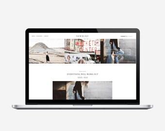 NEWBURY - Responsive Blogger Template - Sticky Navbar, Simple, Chic, Minimal, Sleek