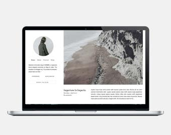 THE ATTIC Responsive Blogger Template Sticky Scrolling