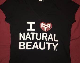 I Love My Natural Beauty Shirts