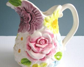 Vintage Japan Relpo Flower Pot/Japan Retro Creamer/Relpo 6453