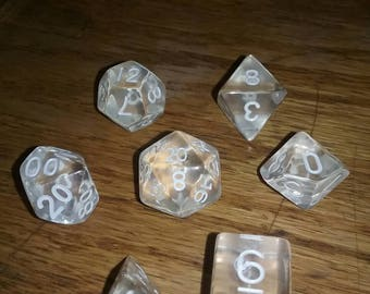Gaming polyhedral dice sets