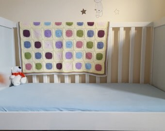 Soft Colours Baby Blanket