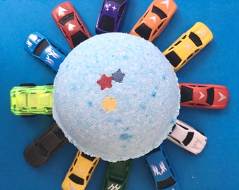 Car Bath Bomb, Boys Bath Bomb, Surprise bath bomb, Boys Birthday Gift, Christmas Gift, Boys Gift, Xmas Bath Bomb, Xmas Eve Box Filler, UK