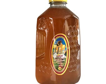 Wildflower Honey Pure Natural Raw Honey HERSHEY'S HONEY 100% 5 lbs.