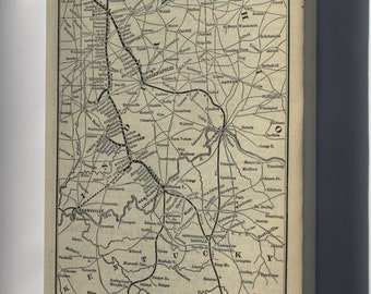 Canvas 24x36; 1893 Poor'S Louisville, New Albany And Chicago Railway
