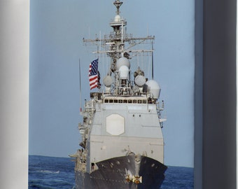Canvas 24x36; Guided-Missile Cruiser Uss Princeton (Cg 59)