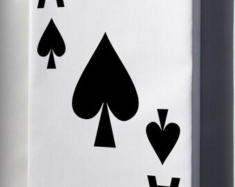 Canvas 24x36; Ace Of Spades