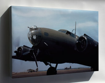 Canvas 16x24; B-17 Flying Fortress May 42 Langley Field