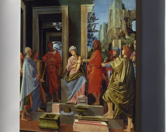 Canvas 16x24; Adoration Of The Kings By Bramantino C1500