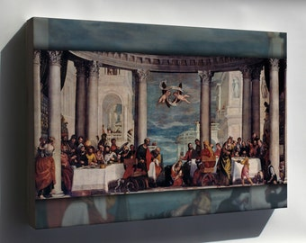 Canvas 16x24; Feast In The House Of Simon The Pharisee By Paolo Veronese