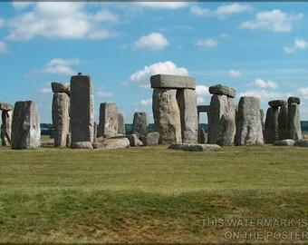 16x24 Poster; Stonehenge P3