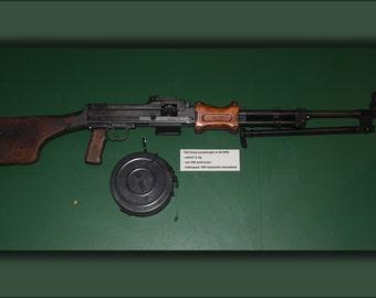 16x24 Poster; 7,62 Mm Rpd Light Machine Gun
