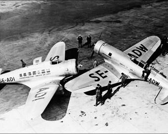 16x24 Poster; Northrop Delta And Gamma, 1934