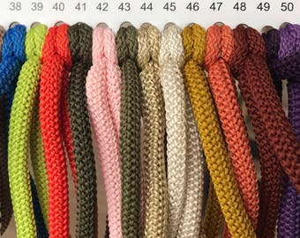100m Polyester rope, colored Rope 6mm, soft cord Macrame, strong cord, crochet yarn, Polyester rope, Nylon colored cord, Craft cotton rope