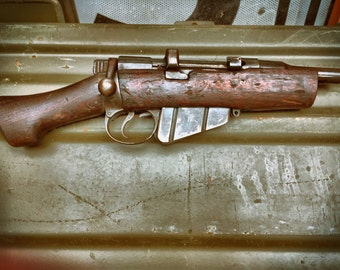 Fallout Demilled Sawed-off WWI Lee Enfield Rifle Post Apocalyptic