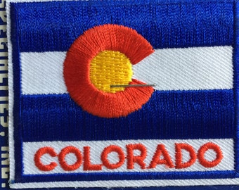 LAST ONE! Colorado Vintage Souvenir Travel Patch from Mountain States Specialties