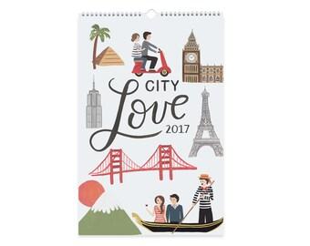 City Love - 2017 Wall Art Calendar