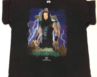 "1997 WWF ""The Undertaker"" T-Shirt"