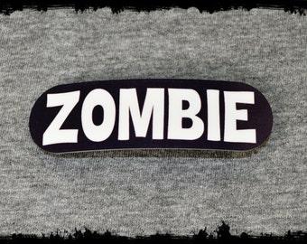 Zombie hair clip - zombie hair clips - horror hair clip - horror hair clips - zombie accessories - punk accessories - horror accessories