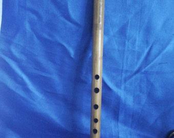 Vintage Wooden Musical Flute in G