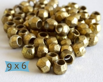 Hand Made Brass Spacers--10 Pcs | 20-BR5008-10