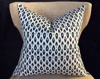 Throw pillow covers, Cushion, pillow case, Pillow, Navy pillow cover, Cushion Cover, white blue pillow, 16x16, 18x18, 20x20 pillow cover