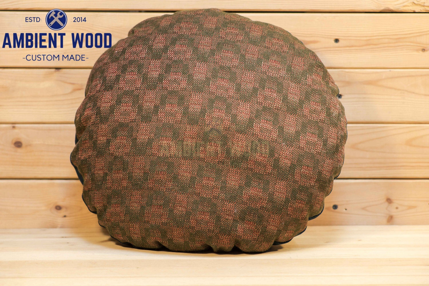 Round Decorative Pillows Green Round Pillow Throw Pillow Cushion Decorative Pillow