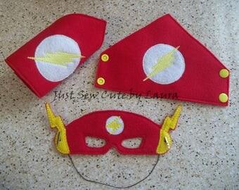 Flash mask and Cuff Set
