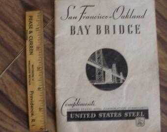 San Francisco Bay Bridge Commerative 1936