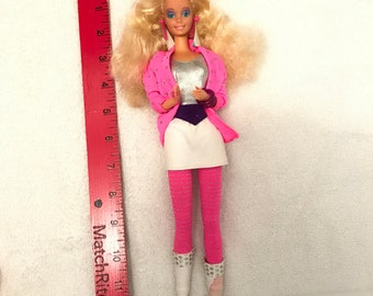 1985 Barbie And The Rockers Barbie Doll
