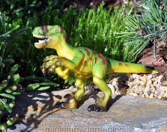 Dinosaur, Velociraptor for Miniature Garden, Fairy Garden