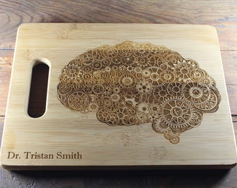Steampunk Brain, Human Brain, Brain Art, Psychiatrist Gift, Psychiatric Nurse, Neuroscience, Student Gifts, Student Teacher Gifts, Professor