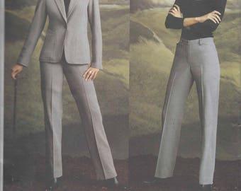 Vogue DKNY Jacket/pant pattern - 14-16-18  OOP