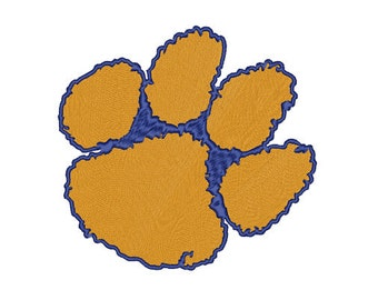 Clemson Tigers Embroidery file 5 SIZES
