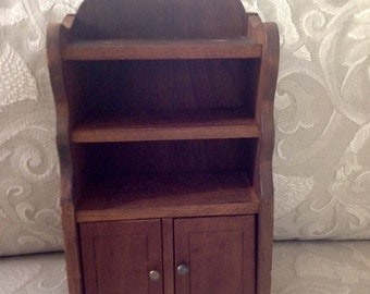 Salesman Sample Hutch Cupboard