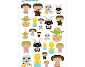 Star Wars Easter Stickers - Disney Planner Stickers