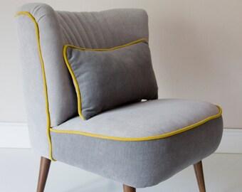 Hanna Mid Century Upcycled Armchair