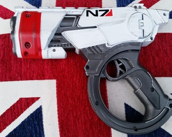 Mass Effect N7 inspired cosplay pistol