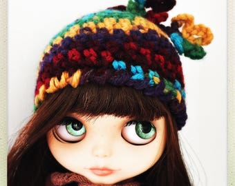 Multicolor hat for Blythe