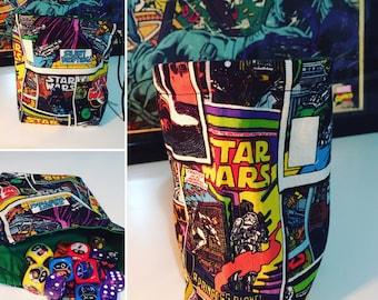 "Star Wars Vintage Comics ""The Empire Strikes Back"" Drawstring Dice Bag"