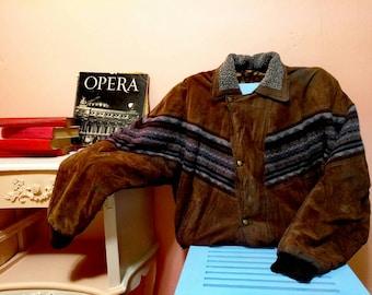 Vintage Coat, Vintage mens Coat, 70s Mens Coat,Mens, Brown Cosy Coat, Vintage Coat, 1970s Coat, Winter, Mens Coat, 70s, 1970 Coat Size XXL