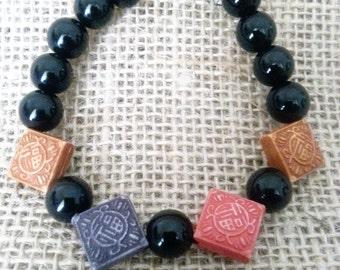 Oriental Tile bracelet